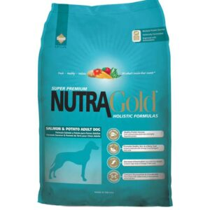 Nutra Gold Large Salmon Potatoes Adult Dog.