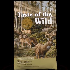 Taste of the Wild Pineforest Canine Recipe