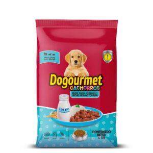 Dogourmet Cachorros Carne, Cereales y Leche Deslactosada.