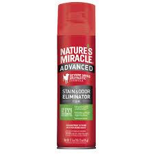 Nature's Miracle Removedor Manchas Y Olores Perro Aerosol 17.5 oz