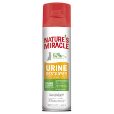 Nature's Miracle Destructor De Orina gato Aerosol 17.5 oz